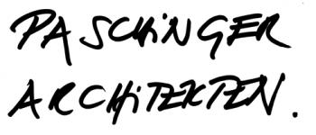 "Handschrift ""Paschinger Architekten"""