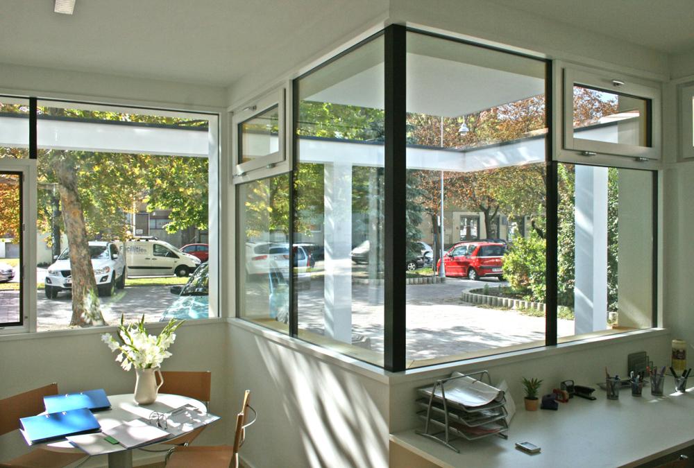Aussicht Kindergarten in Modulbauweise und Massivholzbauweise / kigago (Paschinger Architekten)