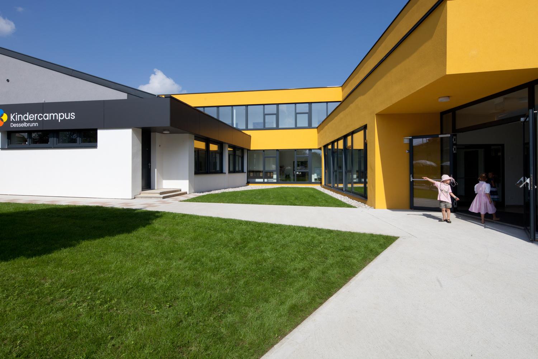 eröffnung kindercampus desselbrunn - Paschinger Architekten