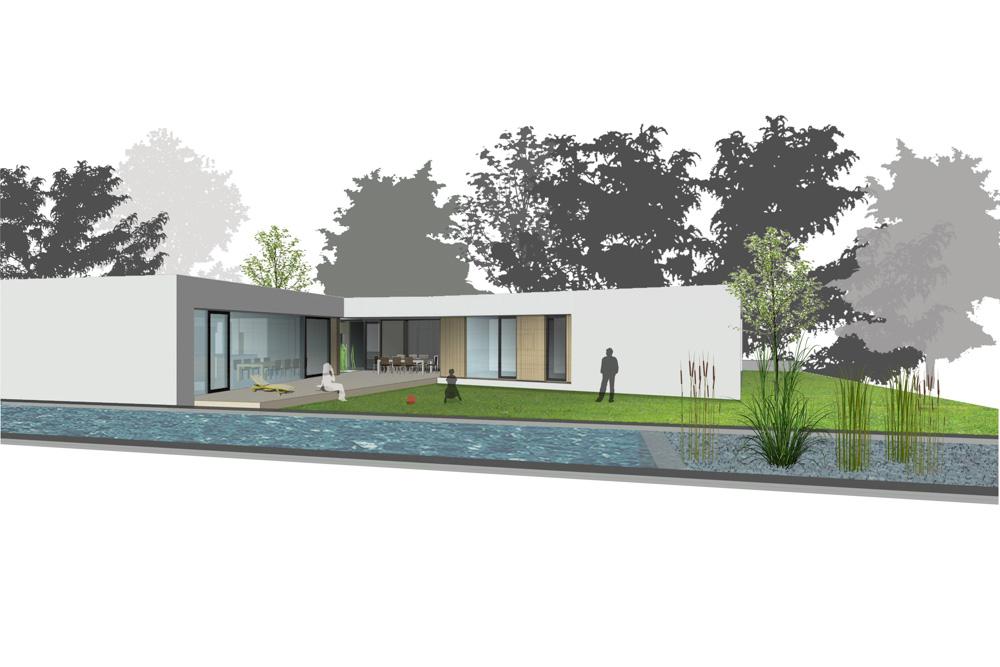 Bungalow burgenland paschinger architekten - Architekten bungalow ...