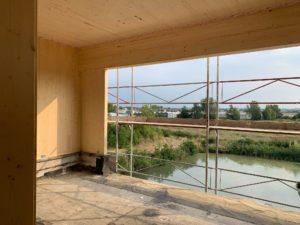 ein ausblick auf die aussicht aus den besprechungsräumen in unserem projekt kps in guntramsdorf