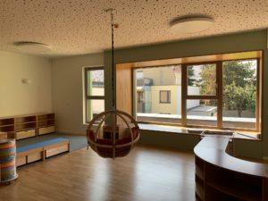 Innenansicht eines Gruppenraumes im Kindergarten der St. Nikolaus Stiftung